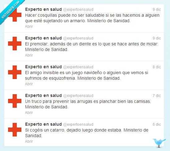 amigo invisible,catarro,ministerio,nadivada,Salud,sanidad,Twitter