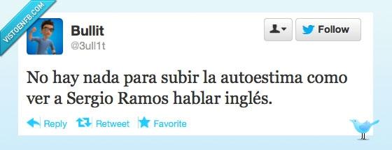 Autoestima.,Fútbol,Hablar,Ingles,Sergio Ramos