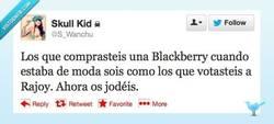 Enlace a Blackberrys y política por @S_Wanchu