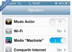 Enlace a Modo machote. Ya disponible en la Apple Store