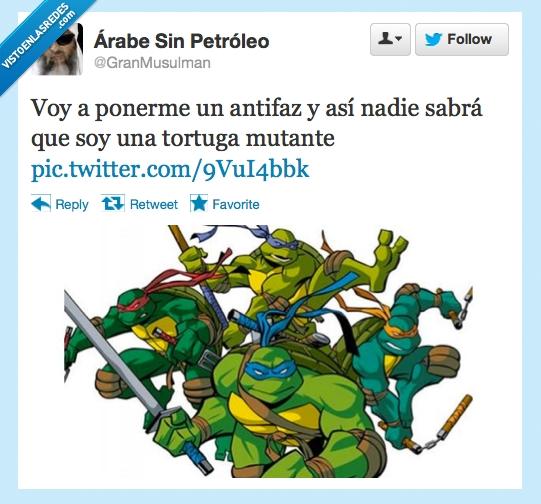 antifaz,estupidez,mutante,tortuga ninja