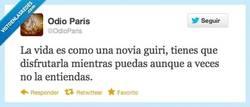 Enlace a La vida es así por @odioparis