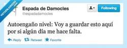Enlace a Asúmelo, jamás volverás a tocarlo por @espadadamocles
