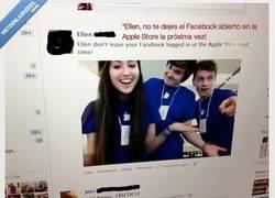 Enlace a No olvides cerrar sesión en Facebook si vas a una Apple Store