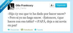 Enlace a De snow con tu novia por @Sr_Painful