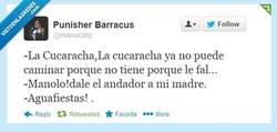 Enlace a La cucaracha, la cucaracha... por @manucaliz