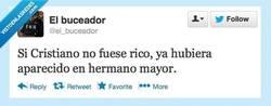 Enlace a Qué inyustisia por @el_buceador