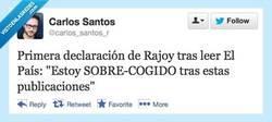 Enlace a Primeras declaraciones por @carlos_santos_r