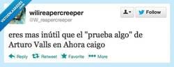 Enlace a Pero... prueba algo por Arturo V... digo por @W_reapercreeper