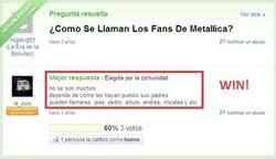 Enlace a Fans de Metallica