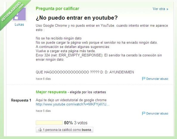 estupida,inutil,respuesta,tutorial,yahoo respuestas,youtube