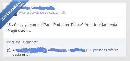8 años,apple,imaginacion,iphone,niños,tecnologia,yo a tu edad