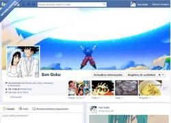 Enlace a El facebook de Son Goku