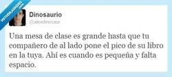 Enlace a Mesas de clase por @alexdinosaur