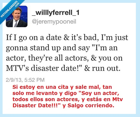 actores,cita,corriendo,disaster date,levanto,mtv