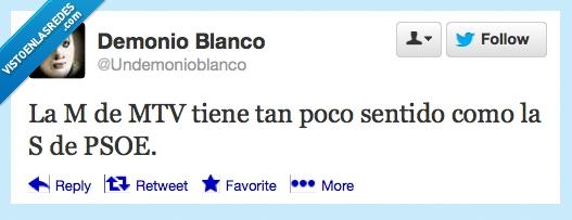inicial,letra,MTV,music,PSOE,sigla,socialista,twitter