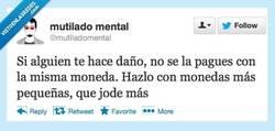 Enlace a Pero sin resentimiento por @mutiladomental