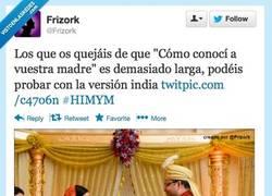 Enlace a Cómo conocí a vuestra madre versión india por @frizork