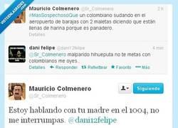 Enlace a @Sr_Colmenero callando bocas