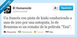 Enlace a La multa de Benzema por @ElHumanoide