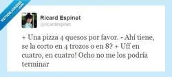 Enlace a Una pizza por favor, por @ricardespinet