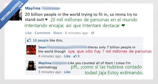 facebook,no solo las rubias son tontas,y cuando creías que la estupidez humana no podía ser más