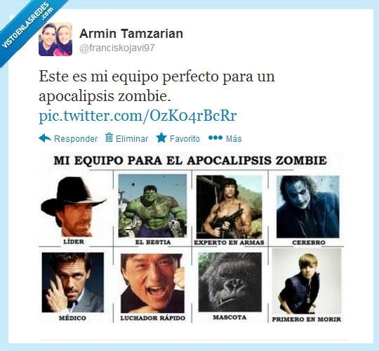 Apocalipsis,Chuck Norris,House,Hulk,Joker,Justin Gey,stallone,van damme,Zombie