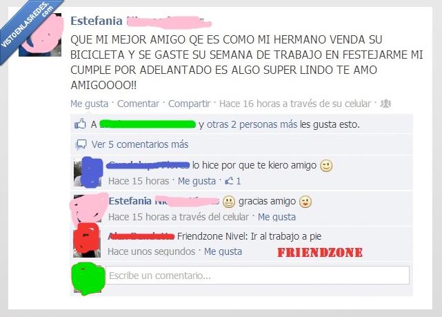 bicicleta,dinero,facebook,friendzone,nivel