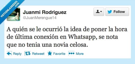 conexion,hora,inventor,Novia,obsesiva,ultima,whatsapp