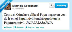 Enlace a Mauricio @Colmenero siendo Mauricio Colmenero
