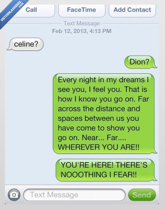 cancion,celine,dion,every night,titanic,whatsapp