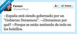 Enlace a Gobierno Doraemon por @FarsonOfficial
