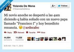 Enlace a ¡Fíchalo, Sandro Rey, tiene poderes! por @yolandademena