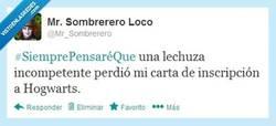 Enlace a Es la única respuesta lógica por @mr_sombrerero