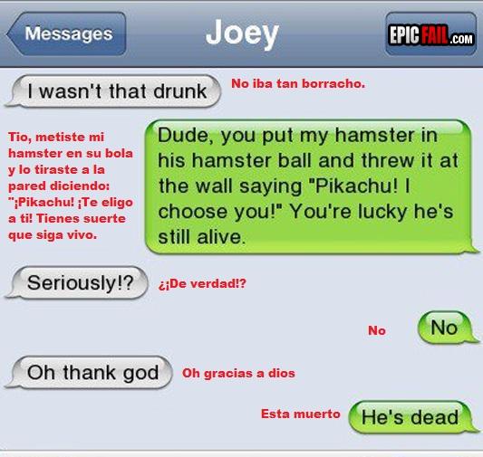 alcohol,hamster,matar,pikachu