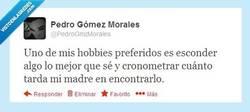 Enlace a Más que un hobby, es un reto personal por @pedrogmzmorales