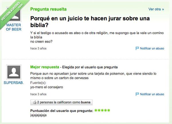 ateo,biblia,creyente,jurar,pokemon,tarjeta