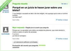 Enlace a Yo no quiero jurar sobre la Biblia