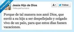 Enlace a Dios Todopoderoso y Supermajo por @elsuperhumano