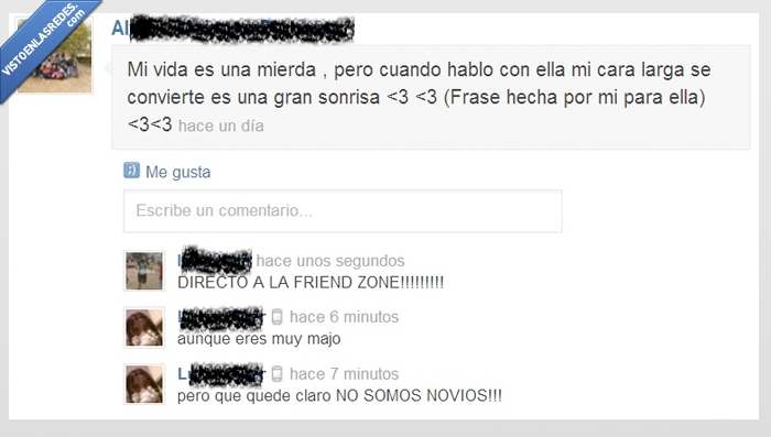 chaval gordo,friend zone,tonto,tuenti