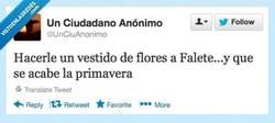 Enlace a Falete, qué agonías por @unciuanonimo