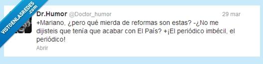 acabar,El país,periódico,Rajoy