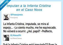 Enlace a Ay, Cristina, que te han pillado...