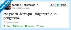 Enlace a Pitágoras y su azarosa juventud por @morfeodenarices