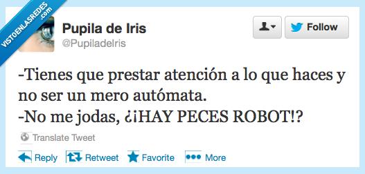 atencion,automata,hace,mero,peces,pez,prestar,robot