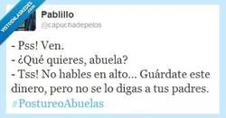 Enlace a Ay, abuela, cómo te quiero por @capuchadepelos