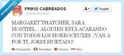 Enlace a Yo de ti iría con cuidado por @frikiscabreados