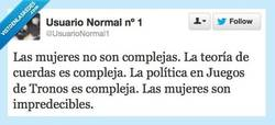 Enlace a ¿Mujeres complicadas? Nah... por @usuarionormal1