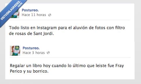 filtro,instagram,libro,postureo,rosa,sant jordi