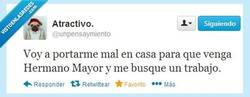 Enlace a Hermano Mayor por @unpensaymiento